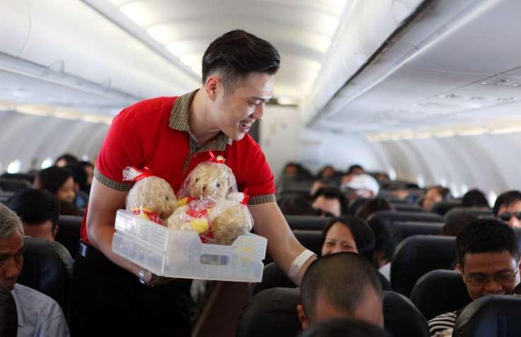 Bí quyết giảm cân hiệu quả của một nam tiếp viên hàng không