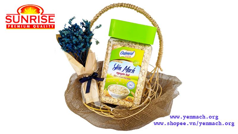 yến mạch nguyên hạt oatmeal pure