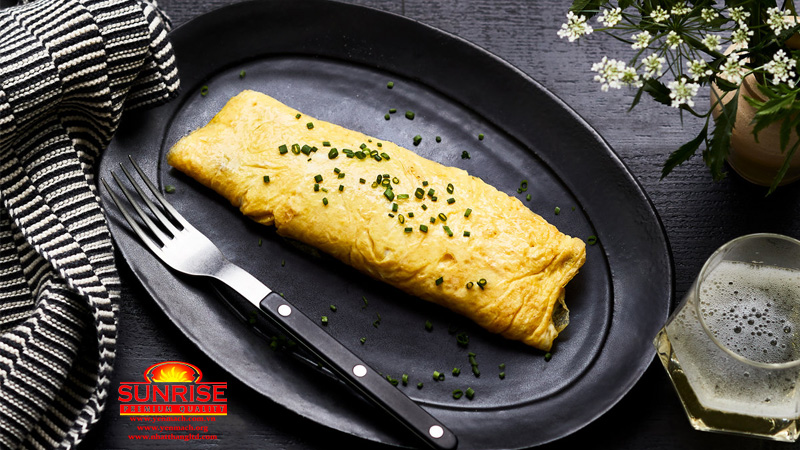 trứng omelet