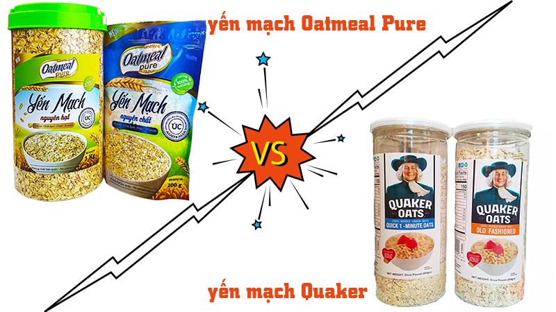 yến mạch úc oatmeal pure Nên chọn thương hiệu yến mạch nào để sử dụng ?