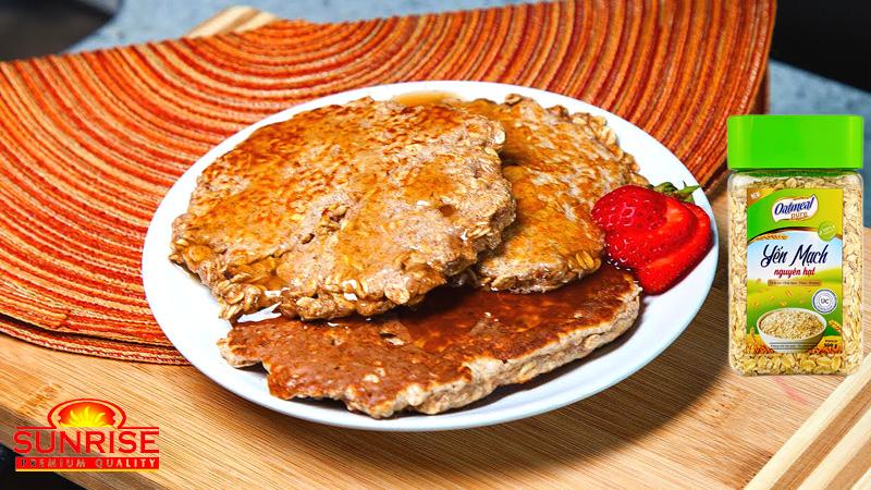 bánh pancake yến mạch