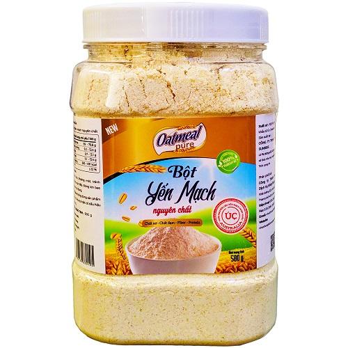 Bột yến mạch úc tươi nguyên chất Oatmeal Pure 500g