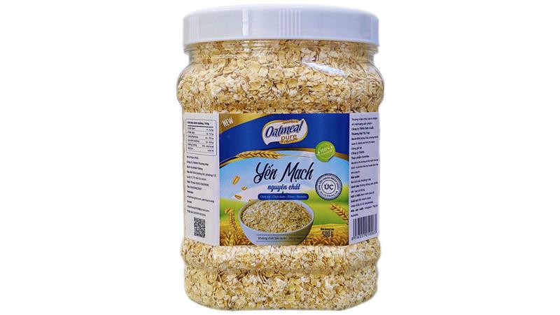 Yến mạch úc tươi nguyên chất Oatmeal Pure 500g