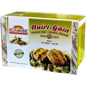 Bánh ăn kiêng yến mạch hạt bí Sunrise