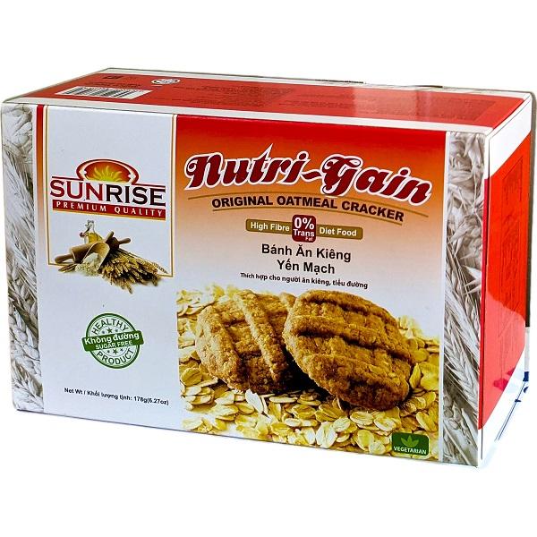 Bánh ăn kiêng yến mạch nguyên chất Sunrise